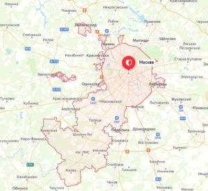 территория Москвы после расширения границ